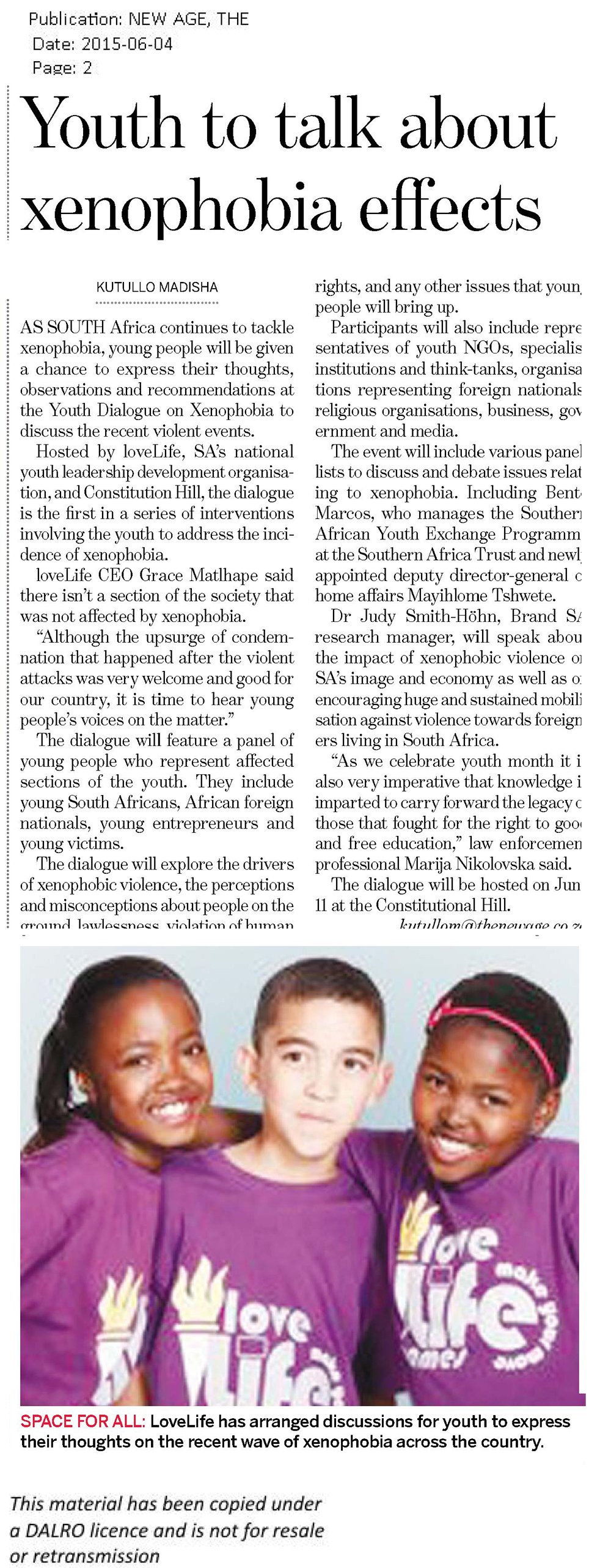 THE-NEW-AGE---XENOPHOBIA